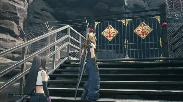 Cómo abrir las puertas doradas y rojas en Final Fantasy VII Remake