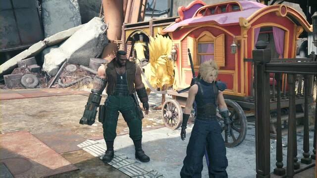Cómo hacer viaje rápido en Final Fantasy VII Remake