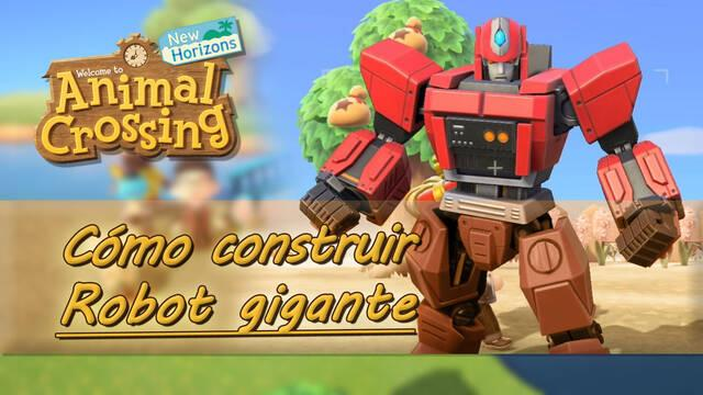 Cómo construir un robot gigante en Animal Crossing: New Horizons