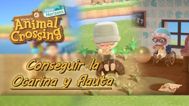 ¿Cómo conseguir la ocarina y la flauta dulce en Animal Crossing: New Horizons?