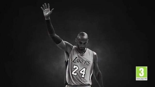 Homenaje NBA 2K20 a Kobe Bryant
