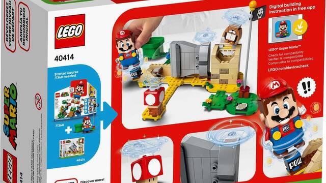 Así es uno de los sets de expansión de LEGO Super Mario