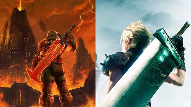 Doom felicita a Final Fantasy VII Remake por su lanzamiento.