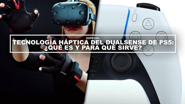 Tecnología háptica del DualSense de PS5: ¿Qué es y para qué sirve?