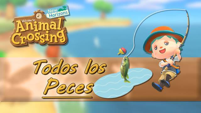 TODOS los peces en Animal Crossing New Horizons, precio y cómo conseguirlos