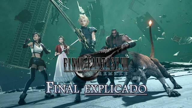 Final explicado en Final Fantasy VII Remake y teorías