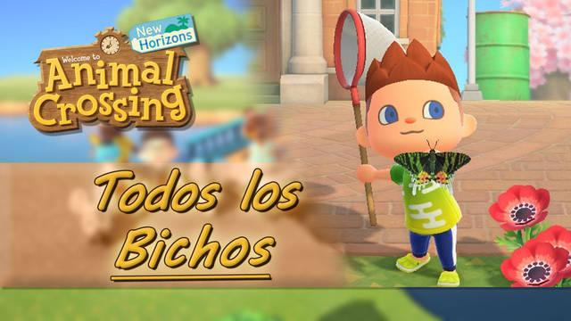 TODOS los bichos en Animal Crossing New Horizons, precio y cómo conseguirlos