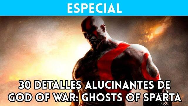 God of War: Ghost of Sparta  y sus 30 detalles alucinantes
