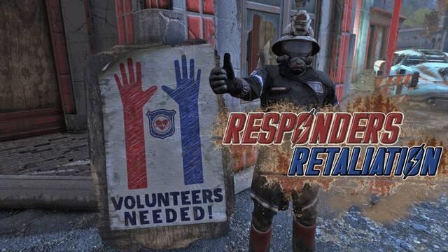 Voluntarios en Fallout 76 reparten medicina gratuita inspirados por los sanitarios del coronavirus.