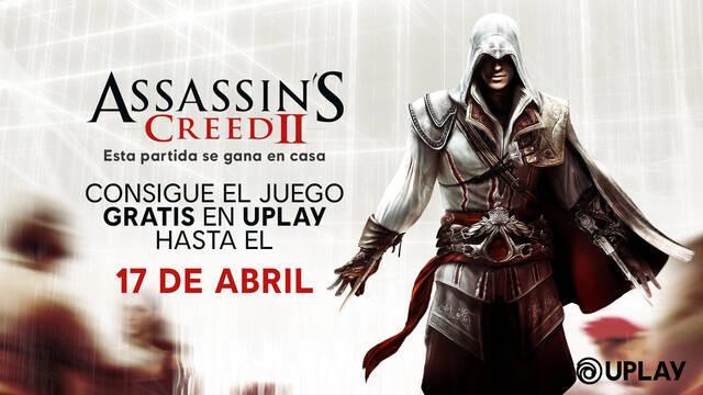 Assassin's Creed 2 gratis para PC hasta el 17 de abril.
