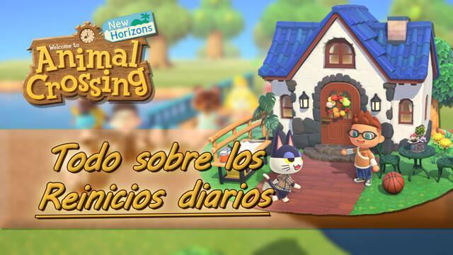 Reinicios diarios en Animal Crossing New Horizons: cuándo suceden y qué cambia