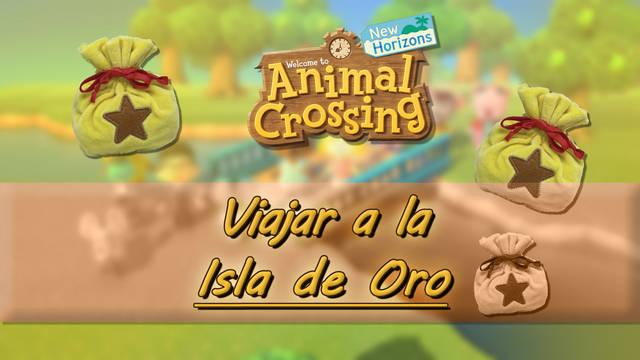 Cómo viajar a la isla de oro en Animal Crossing: New Horizons