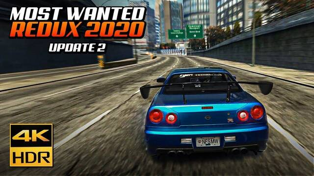 Need for Speed Most Wanted Redux 2020 mod disponible