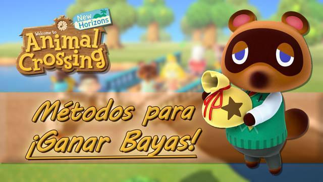 Trucos para conseguir muchas bayas rápidamente en Animal Crossing: New Horizons