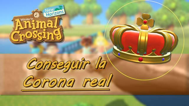 ¿Cómo conseguir la corona real en Animal Crossing: New Horizons?