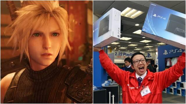 FF 7 Remake es el juego más vendido en Japón y PS4 conquista el hardware
