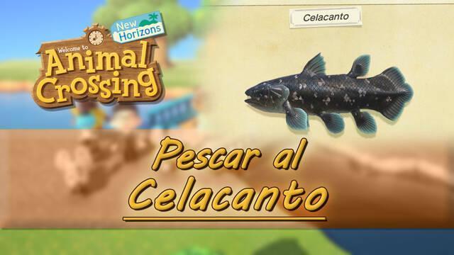 Cómo pescar al Celacanto en Animal Crossing: New Horizons