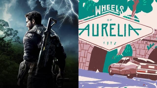 Ya disponibles los juegos gratuitos de esta semana en Epic Games Store: Just Cause 4 y Wheels of Aurelia.