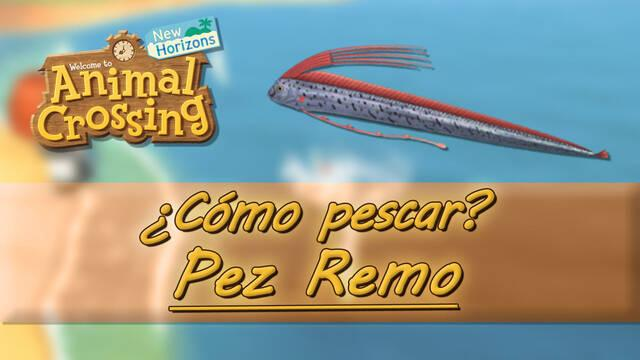 Cómo pescar al Pez Remo en Animal Crossing: New Horizons