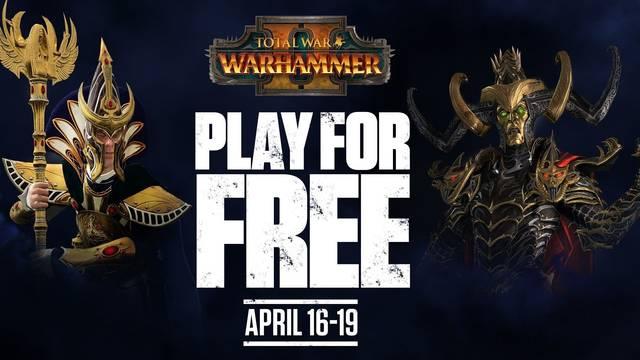 Total War: Warhammer 2 gratis este fin de semana