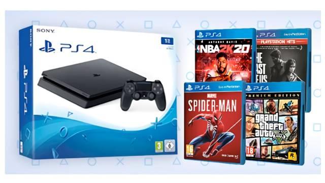 GAME pone en oferta packs de PS4 Slim y exclusivos de Sony.