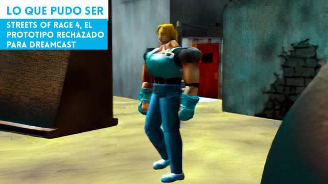 Streets of Rage 4, el prototipo rechazado para Dreamcast
