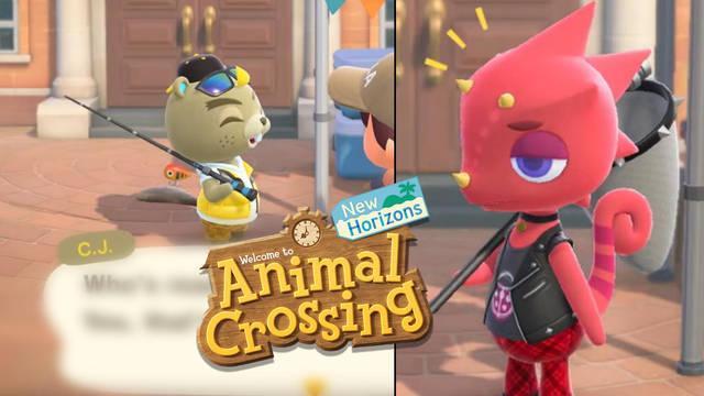 Animal Crossing Kamilo y CJ