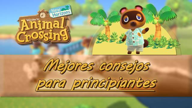 Consejos y trucos para principiantes en Animal Crossing: New Horizons