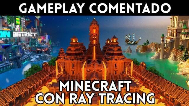 Minecraft con Ray Tracing