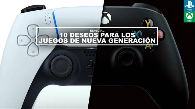10 deseos para los juegos de PS5 y Xbox Series X
