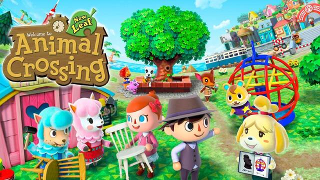 Animal Crossing New Leaf precio Japón Switch 3dS