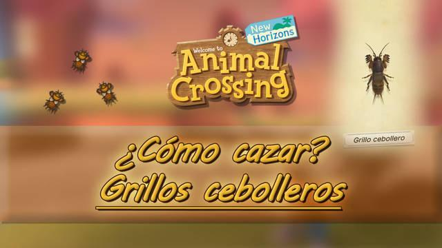 Cómo cazar grillos cebolleros en Animal Crossing: New Horizons