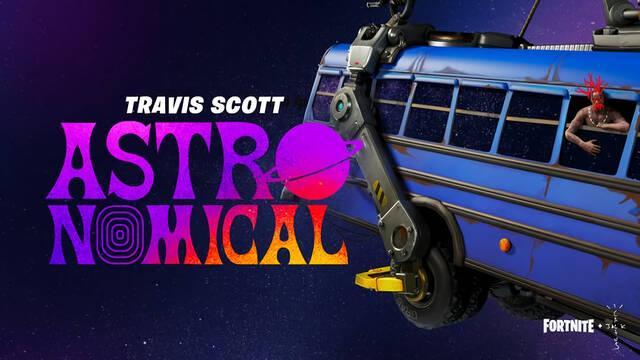 Fortnite Astronomical Concierto Travis Scott