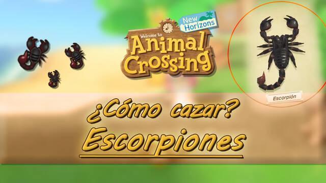 Cómo cazar escorpiones fácilmente en Animal Crossing: New horizons