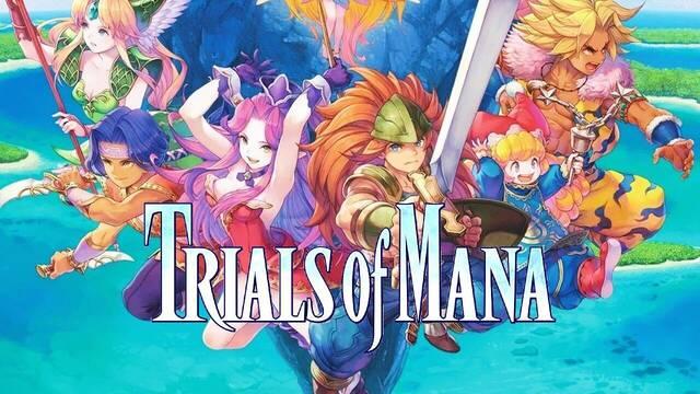 Trials of Mana detalla su actualización de día 1