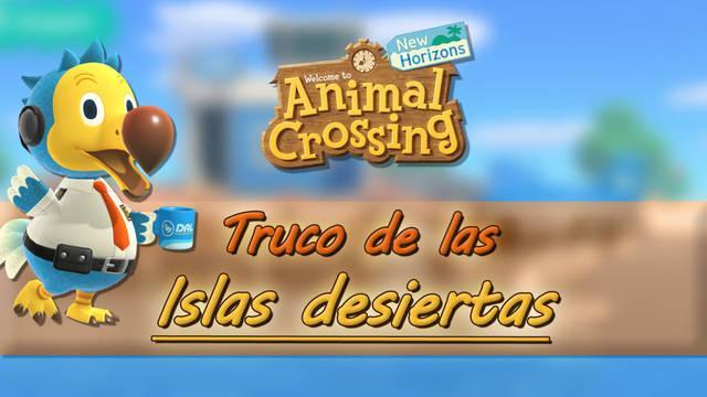Truco para viajar a las islas más raras en Animal Crossing: New Horizons