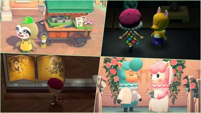 Animal Crossing New horizons Gandulio Ladino Al Paca Museo ampliación