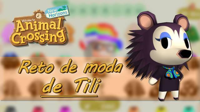 Retos de moda de Tili en Animal Crossing: New Horizons