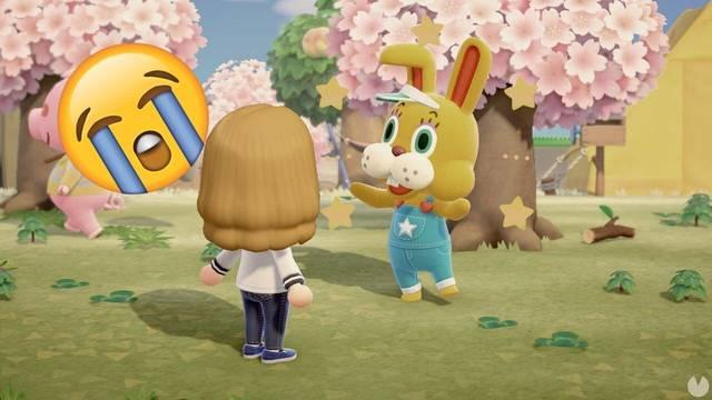 Animal Crossing y el conejo de pascua