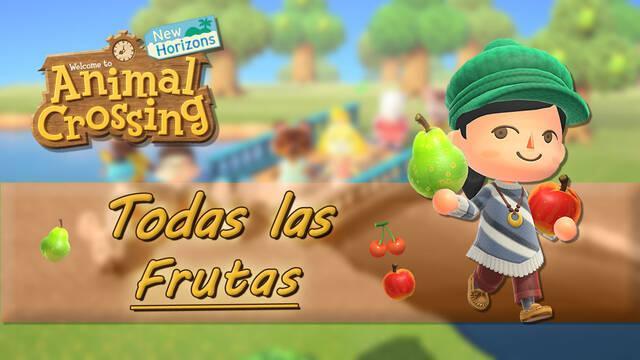 Animal Crossing: New Horizons - Todas las frutas, cómo conseguirlas y precios