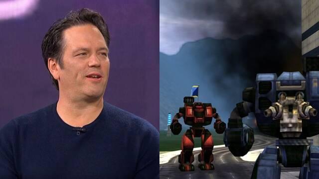 Phil Spencer reconoce querer ver un nuevo juego de MechAssault.