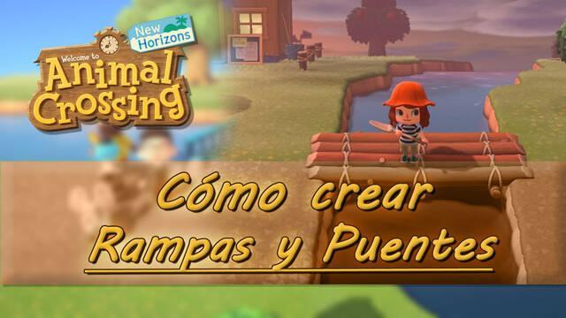Cómo hacer puentes y rampas en Animal Crossing: New Horizons para cruzar ríos