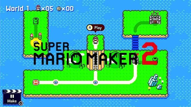 Super Mario Maker 2 y su actualización