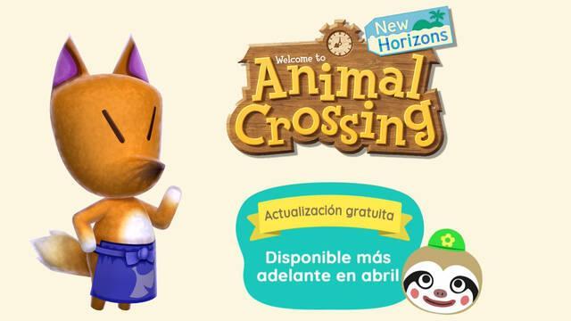 Animal Crossing New Horizons: Actualización 1.2.0