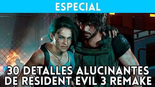 Resident Evil 3 y sus 30 detalles alucinantes