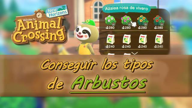 Cómo conseguir todos los arbustos en Animal Crossing: New Horizons