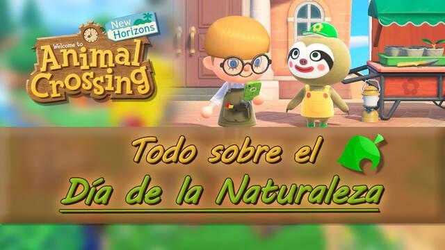 Día de la Naturaleza en Animal Crossing: New Horizons - Tareas y recompensas