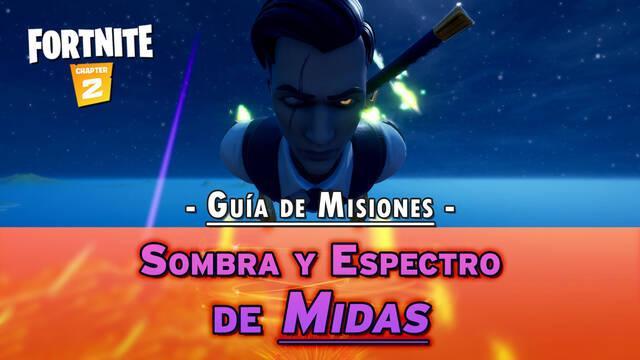 Desafío Fortnite: Misiones de Sombra y Espectro de Midas - SOLUCIÓN