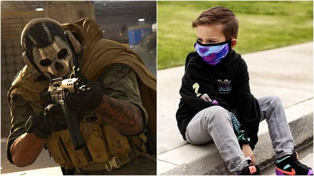 Rogan, el prodigio de Call of Duty: Warzone que tiene sólo cinco años.