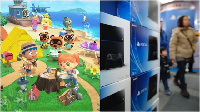 Animal Crossing triunfa en lo más alto y PS4 reina en el hardware